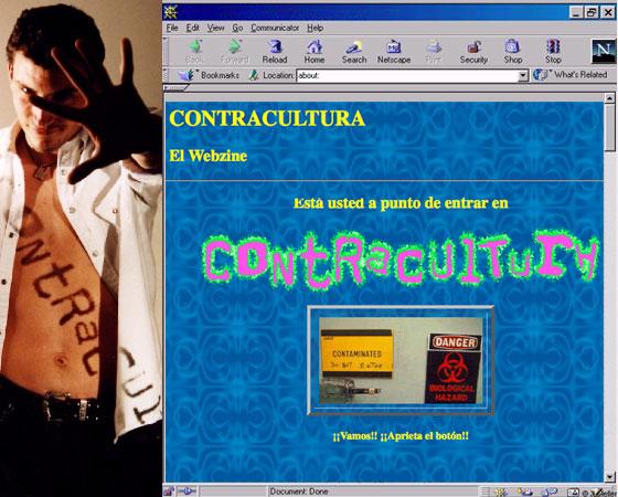 Contracultura el webzine (1995-2000)